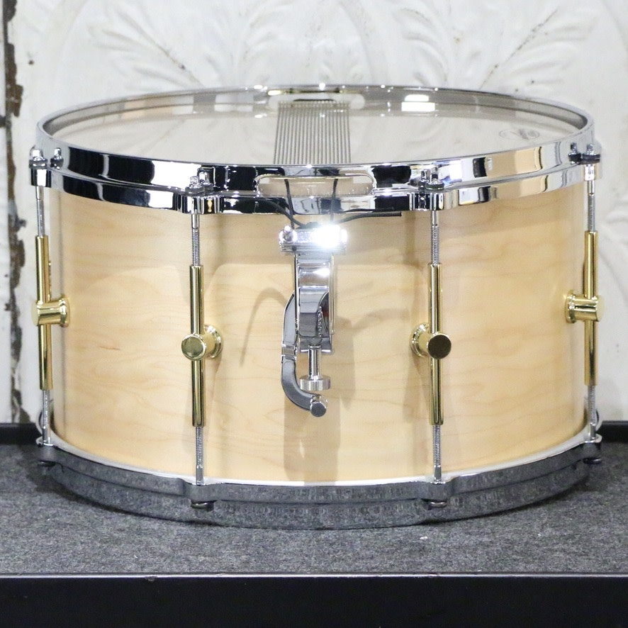 Canopus Canopus The Maple Snare Drum 14X8in - Natural Oil