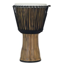 Pearl Pearl Djembe 12in rope tuned Zebra Grass