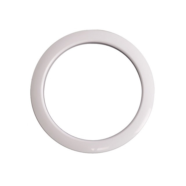 Gibraltar Gibraltar Bass Drum Port Hole Protector 5in - blanc