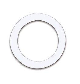 Remo Anneau protecteur pour peau de grosse caisse Remo DynamO 5.5po - blanc