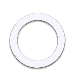 Remo Remo DynamO Bass Drum Port Hole Protector 5.5in - white