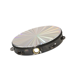 Remo Remo Radiant Tambourine 8in - 1 row, with head