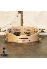 Ron Vaughn Ron Vaughn Maple/Silver Tambourine 8in