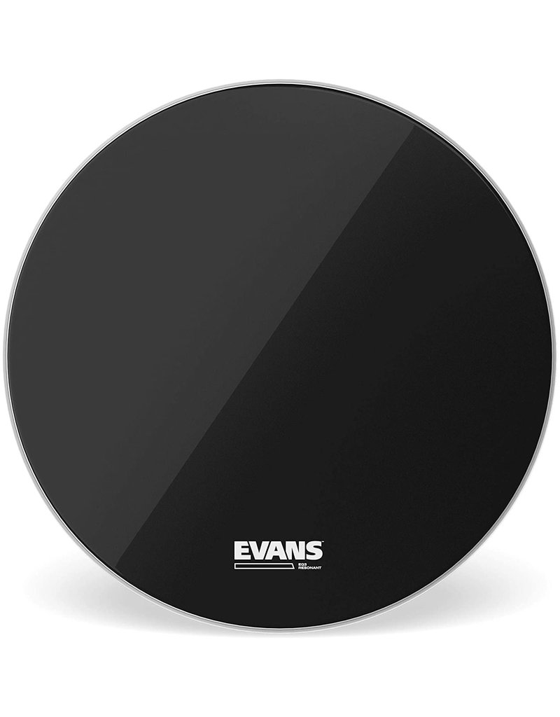 Evans Evans EQ3 Bass Drum Resonant Skin 20in with porthole