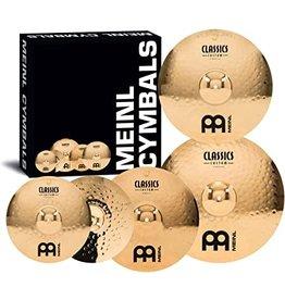 Meinl Ensemble de cymbales Meinl Classics Custom Double Bonus 14-16-20po + 18po GRATUITE