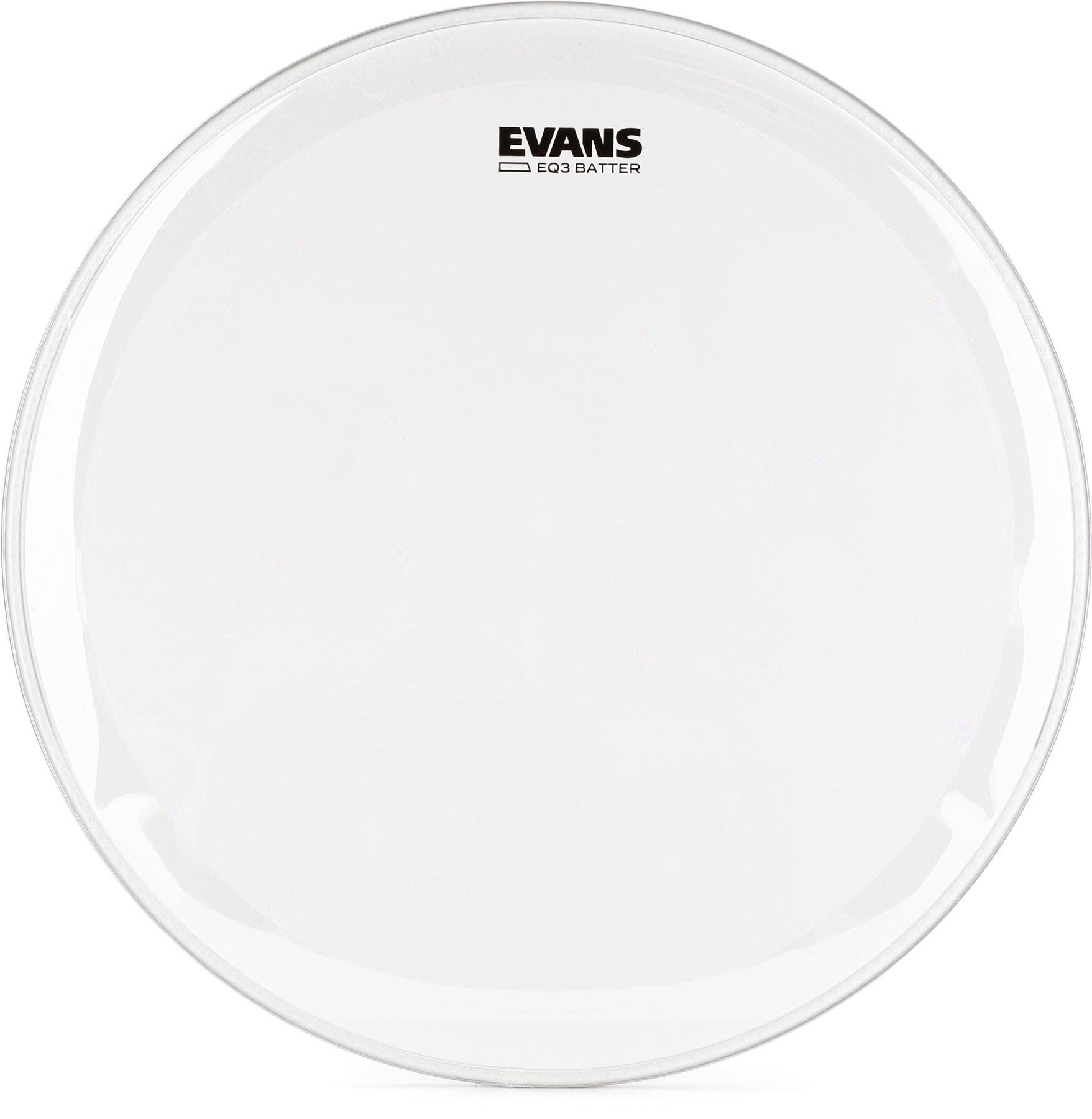Evans Evans EQ3 Clear Bass Drum Head 22in