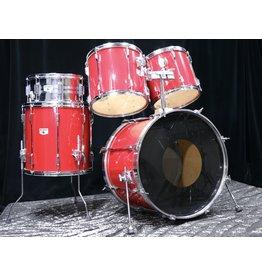 Tama Used Tama Rockstar Drumkit 22-12-13-16 snare 14in