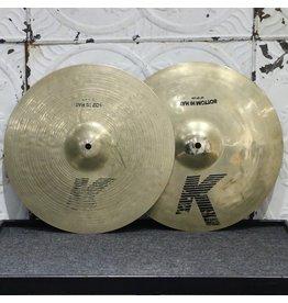 Zildjian Cymbales hi-hat usagées Zildjian K '80s 14po (1004/1324g)
