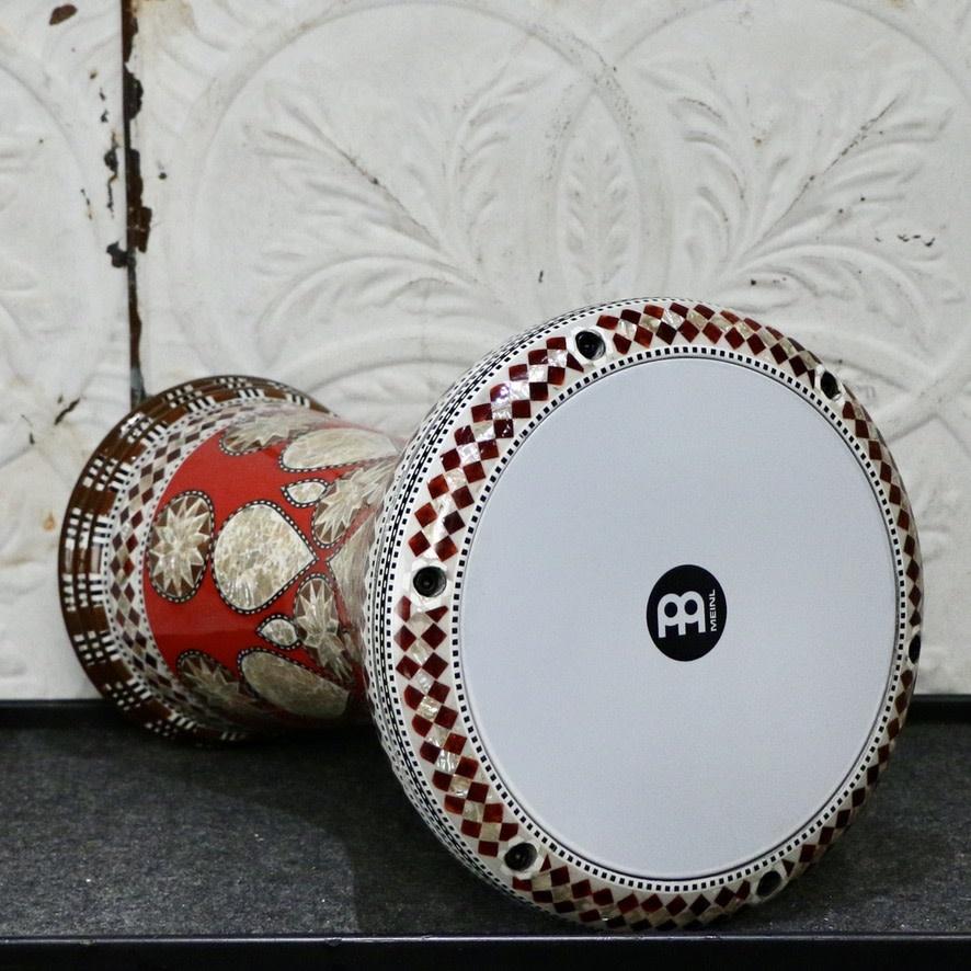 Meinl Meinl Percussion Artisan Edition Doumbek 8-3/4po - White Burl Mosaic Imperial
