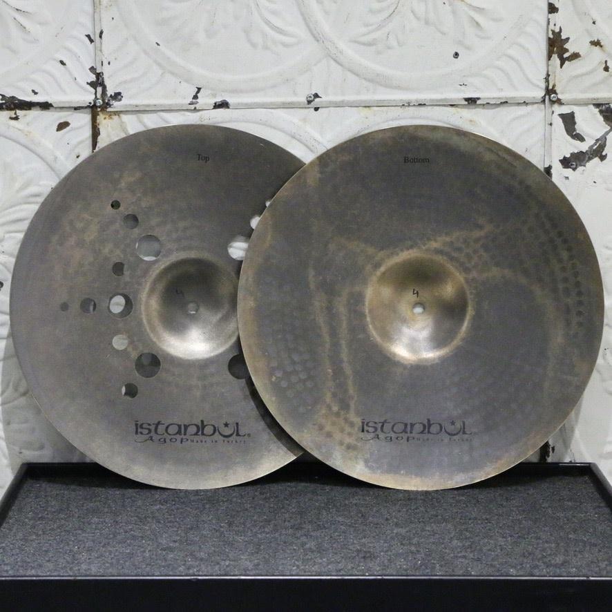 Istanbul Agop Istanbul Agop XIST Ion Dark Hi-hat Cymbals 15in (944/1102g)