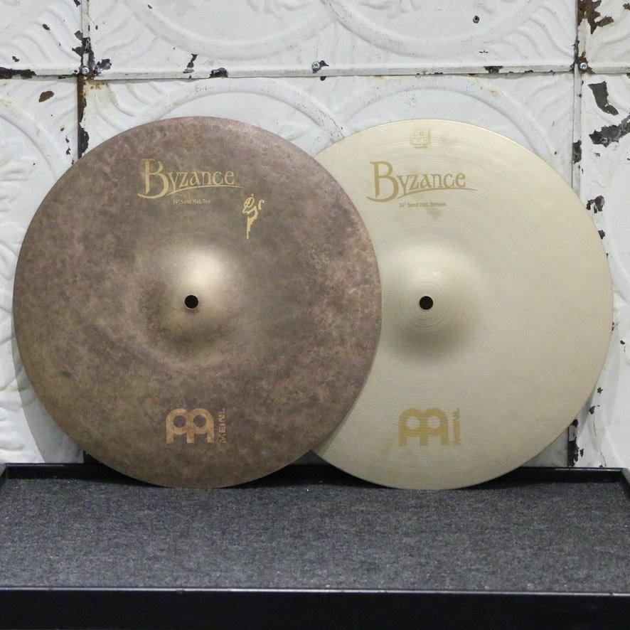 Meinl Meinl Byzance Vintage Sand Hi-hat Cymbals 14in (802/1496g)