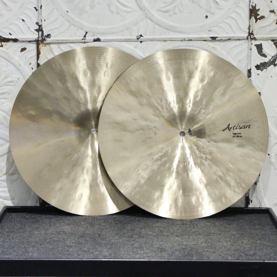 Sabian Sabian Artisan Light Hi-hat Cymbals 15in - with bag (1020/1180g)