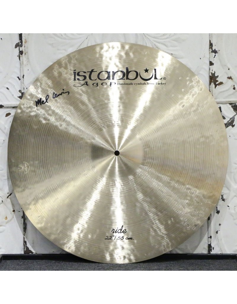 Istanbul Agop Istanbul Agop Mel Lewis Ride Cymbal 22in (2446g)