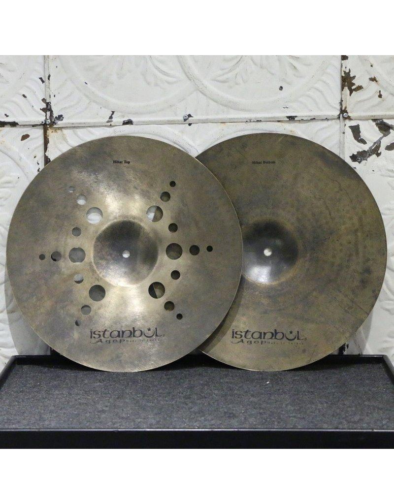 Istanbul Agop Istanbul Agop XIST Ion Dark Hi-hat Cymbals 15in (1002/1328g)