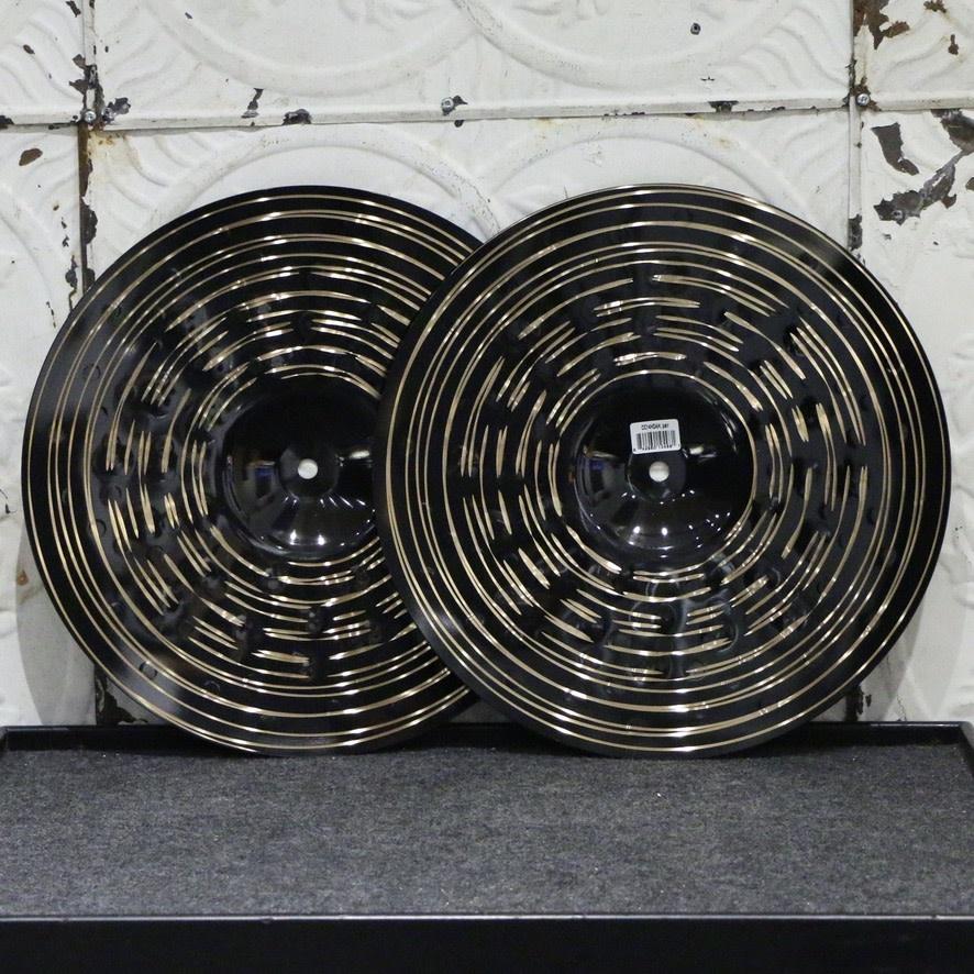 Meinl Meinl Classics Custom Dark Heavy Hi-Hat Cymbals 14in