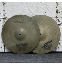 Sabian Cymbales hi-hat usagées Sabian Signature Jack DeJohnette 14po (1056/1426g)