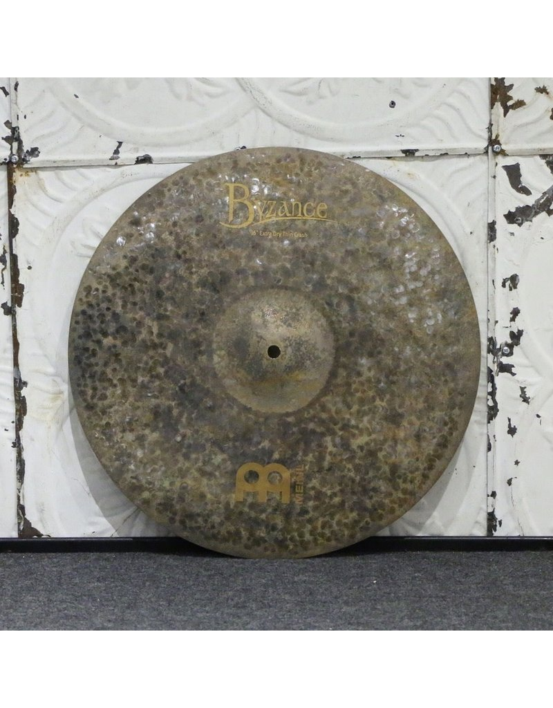 Meinl Meinl Byzance Extra Dry Thin Crash Cymbal 16in (962g)