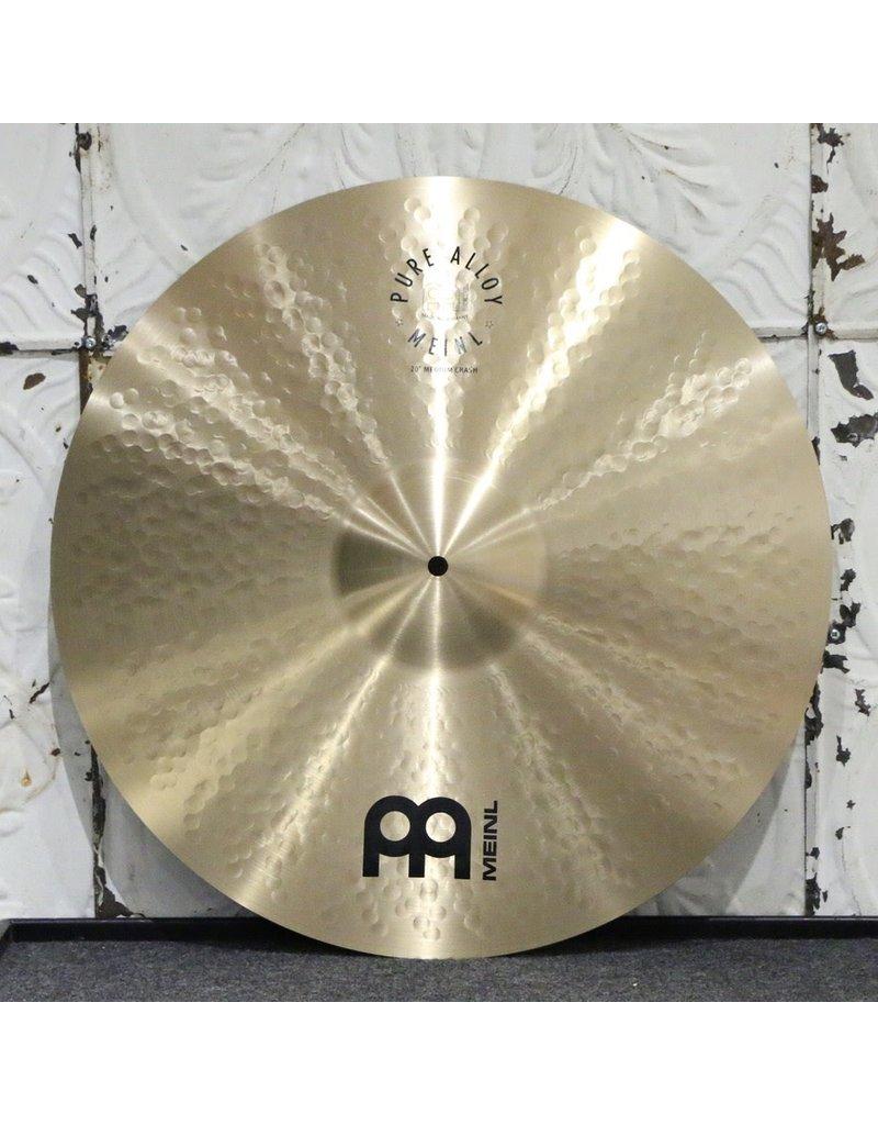 Meinl  Meinl Pure Alloy Medium Crash Cymbal 20in