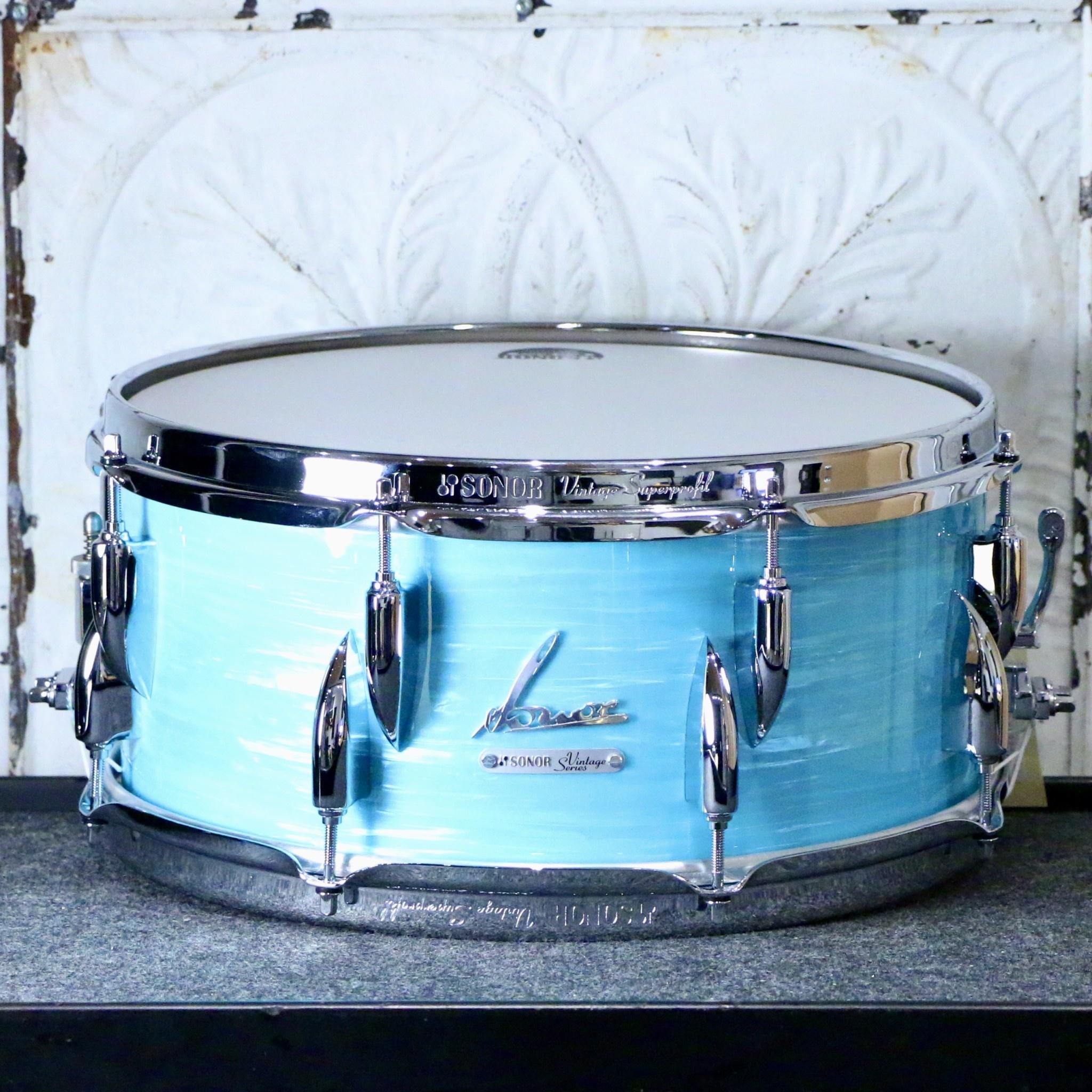 Sonor Sonor Vintage Snare Drum 14X6.5in - California Blue