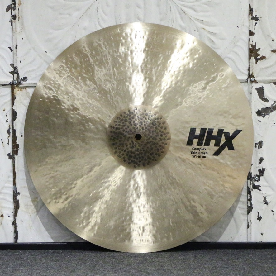 Sabian Sabian HHX Complex Thin Crash Cymbal 18in (1400g)