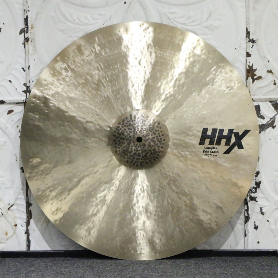 Sabian Sabian HHX Complex Thin Crash Cymbal 20in (1674g)