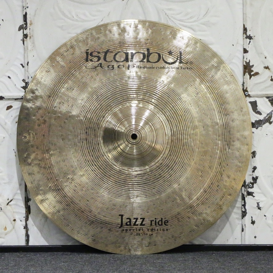 Istanbul Agop Istanbul Agop Jazz Special Edition Ride Cymbal 20in (1876g)