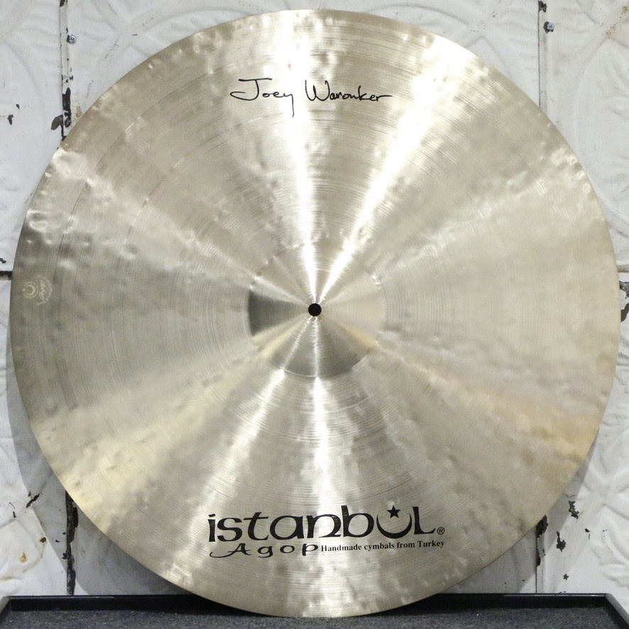 Istanbul Agop Istanbul Agop Joey Waronker Ride Cymbal 24in (3228g)