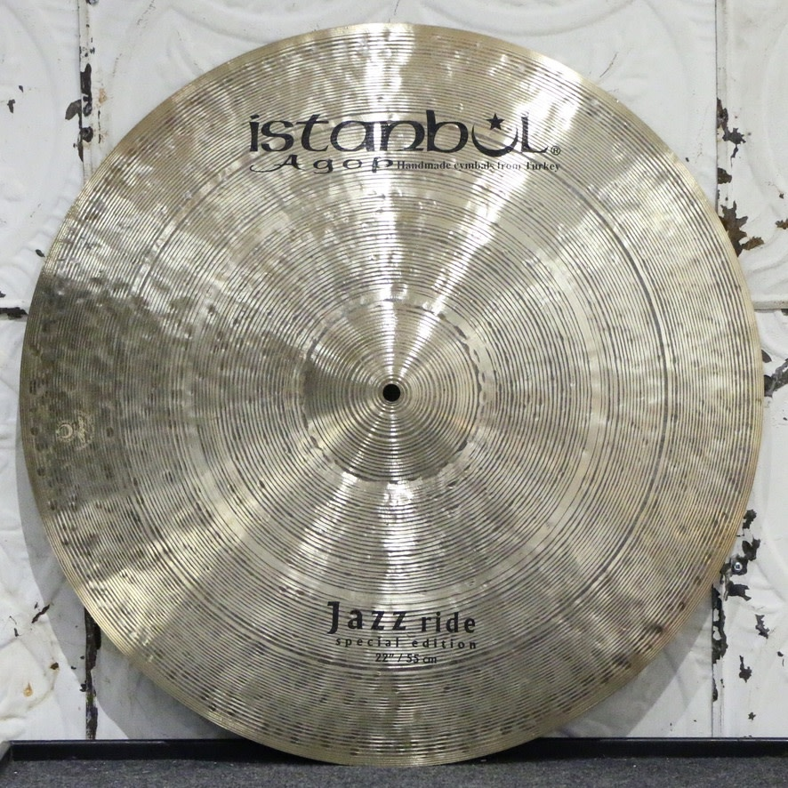 Istanbul Agop Istanbul Agop Jazz Special Edition Ride Cymbal 22in (2322g)