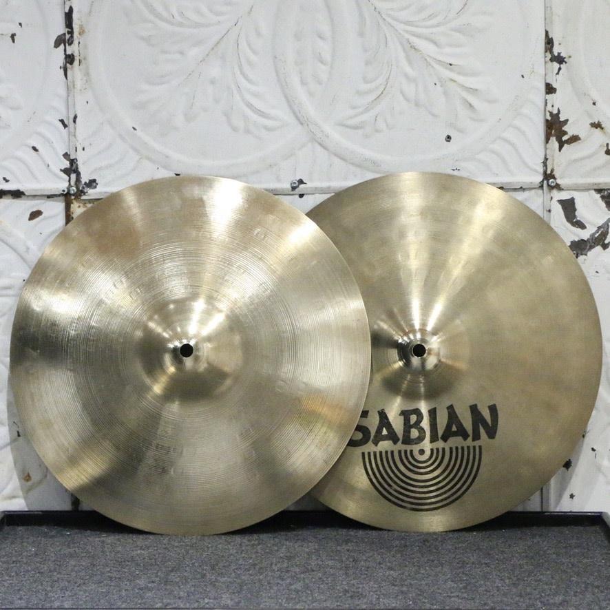 Sabian Used Sabian AAX Studio top/AAX Stage bottom Hi-Hat 14in (910/1388g)