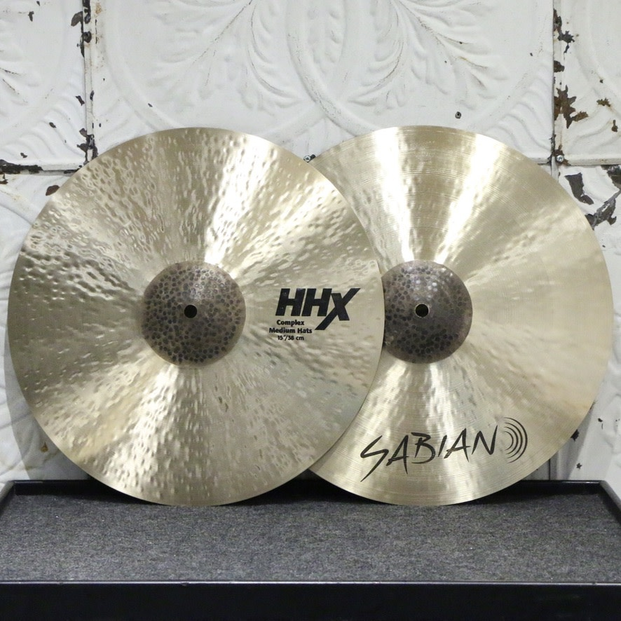 Sabian Sabian HHX Complex Medium Hi-hat Cymbals 15in (1088/1460g)