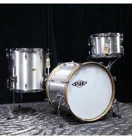 Asba ASBA Metal Drum Kit 20-13-16in  - Brushed Stainless Steel