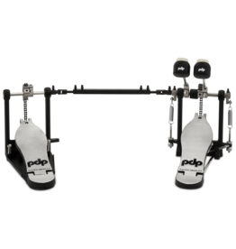 Pacific PDP 700 Double Bass Drum Pedal - Single Chain