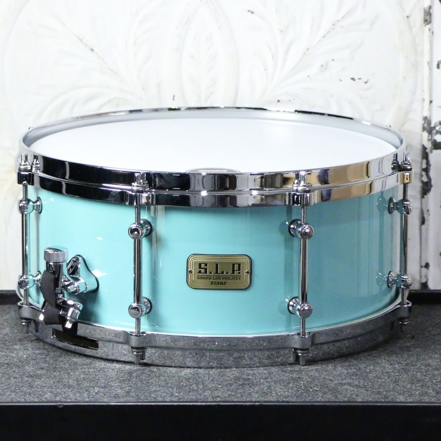 Tama Tama SLP Fat Spruce Snare Drum 14X6in - Turquoise