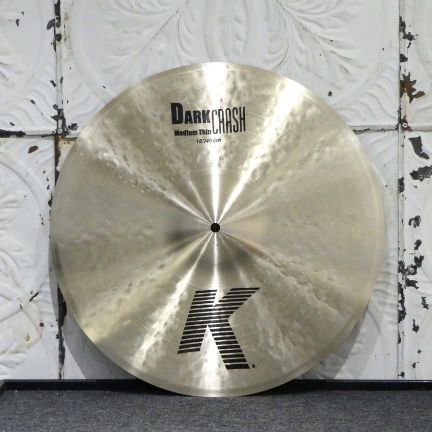 Zildjian Zildjian K Dark Medium Thin Crash Cymbal 18in (1436g)
