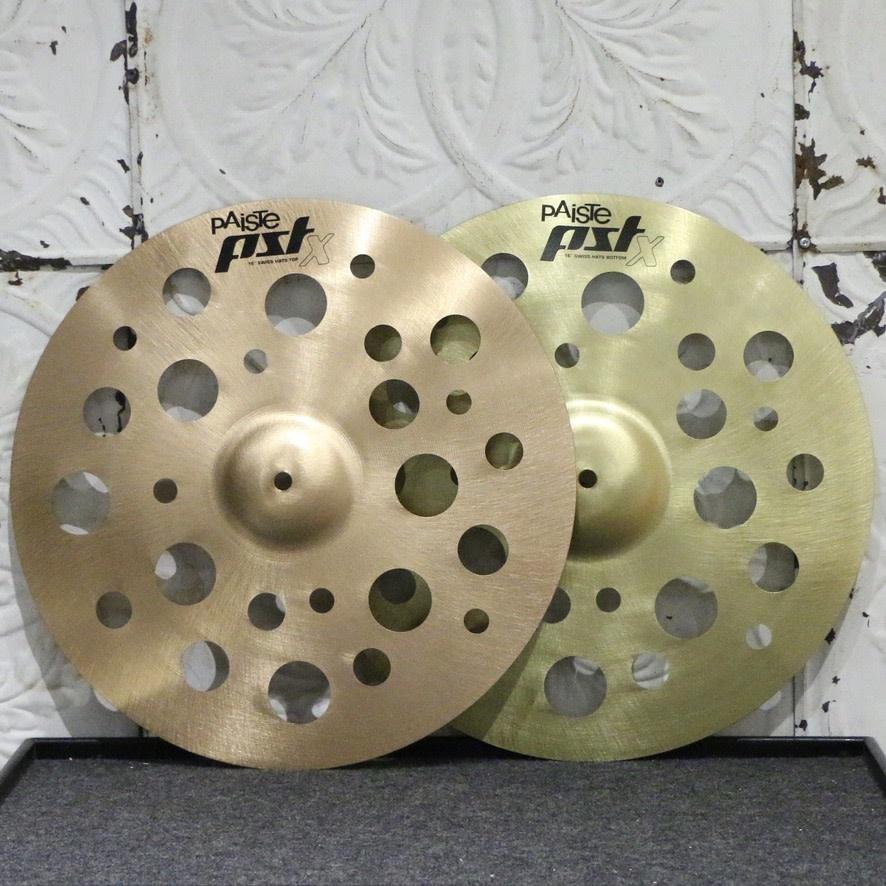 Paiste Paiste PSTX Swiss Hi Hat Cymbals 16in (820/802g)