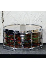 Canopus Canopus NV60-M2S Snare Drum 14X6.5in - Psychedelic Red