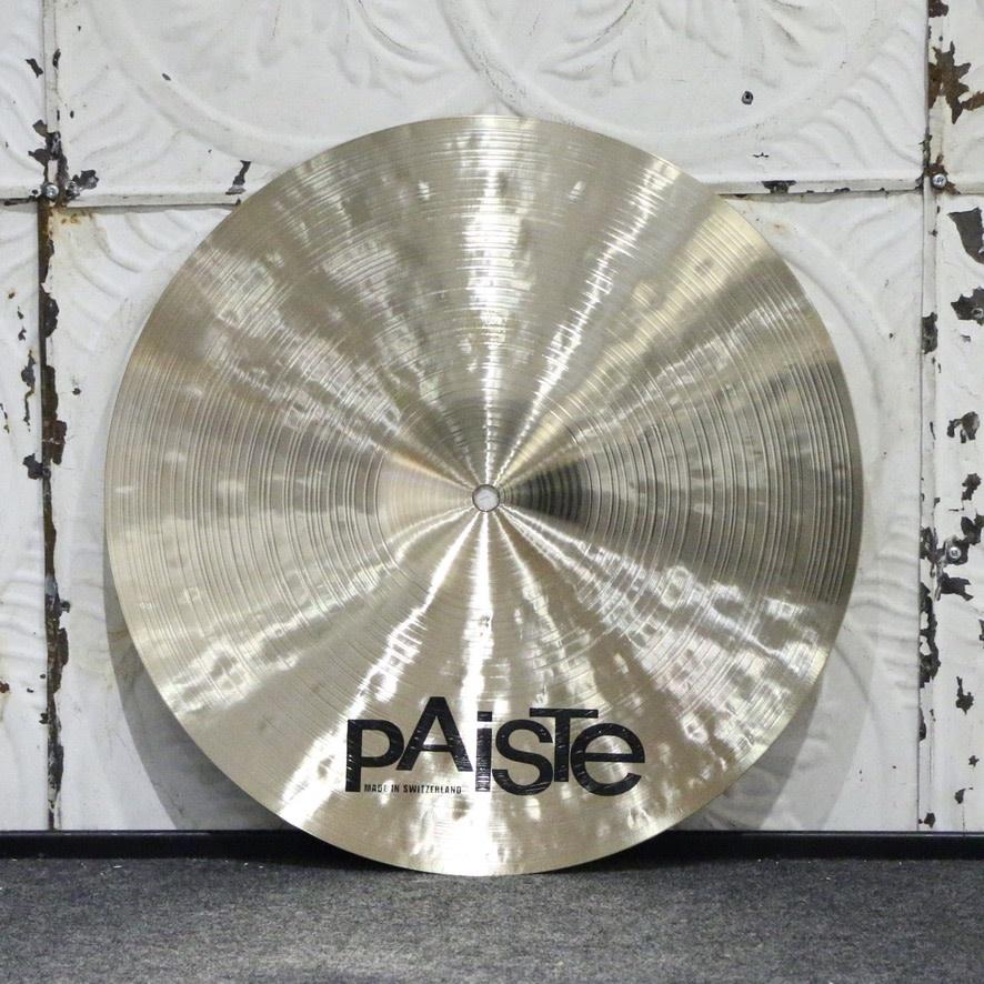 Paiste Cymbale crash Paiste Masters Dark 16po (954g)
