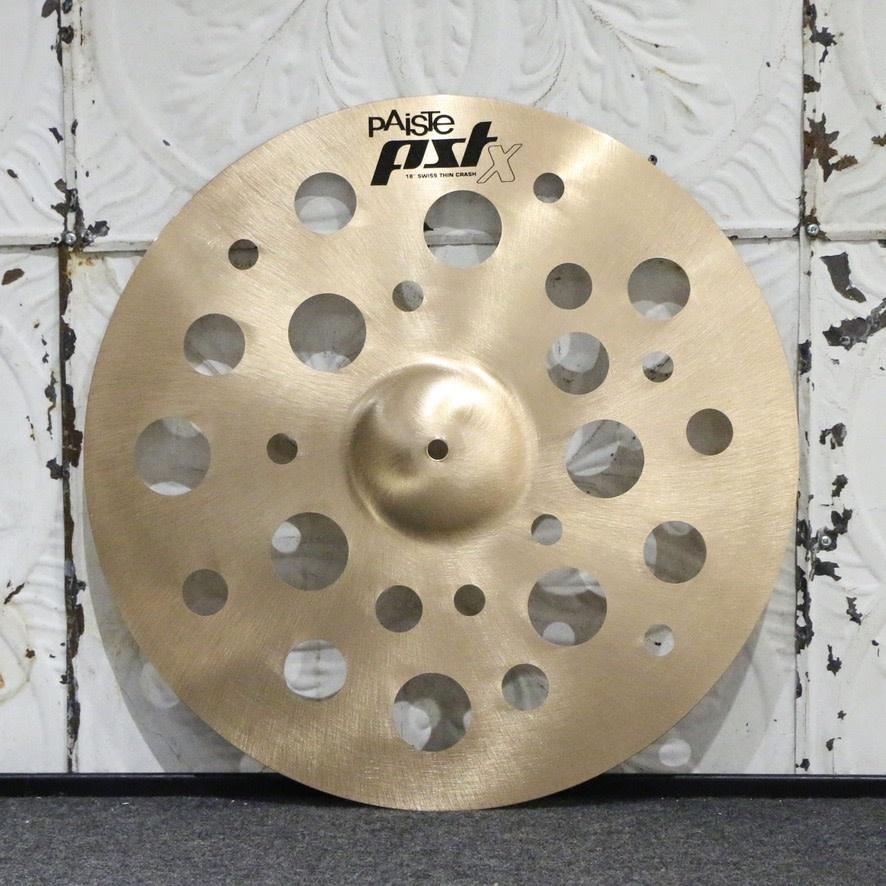 Paiste Paiste PSTX Swiss Crash Cymbal 18in