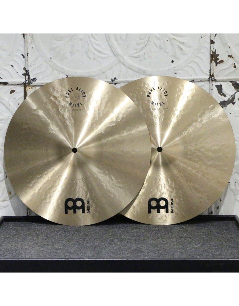 Meinl Meinl Pure Alloy Medium Hi-Hat Cymbals 15in (1130/1298g)