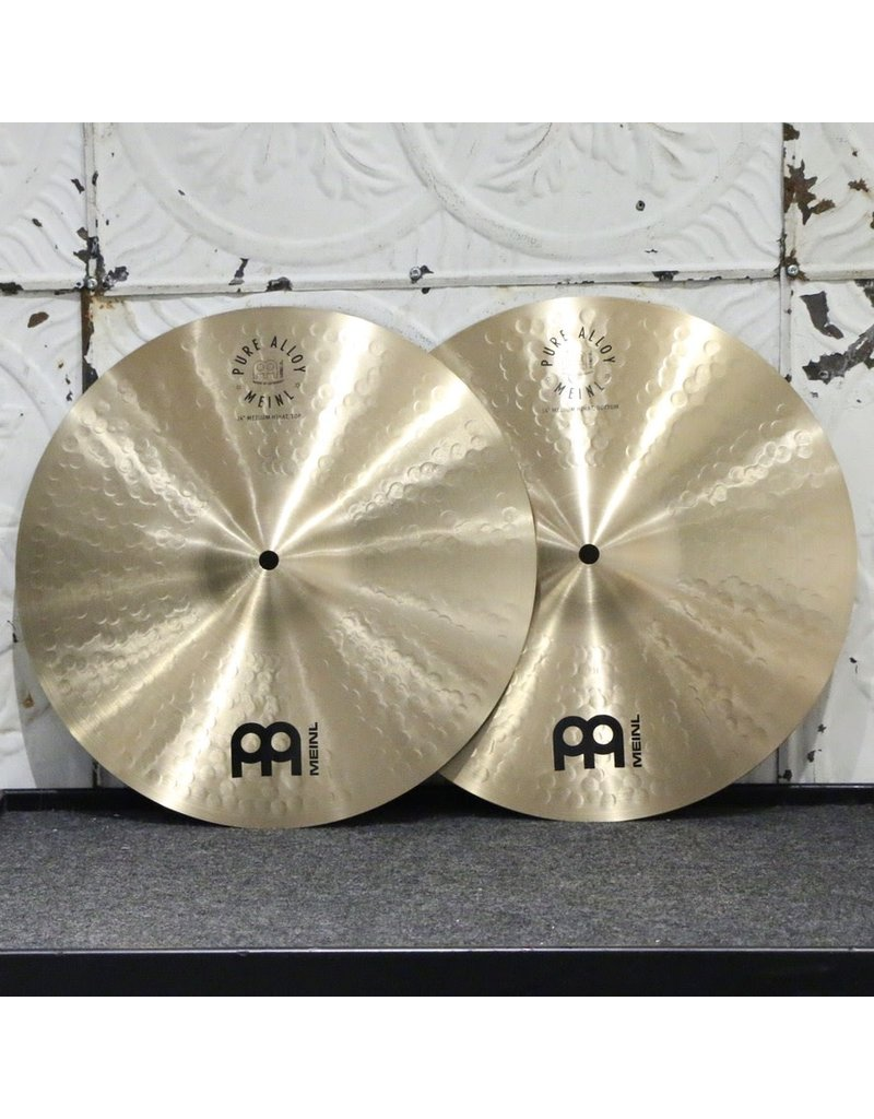 Meinl Meinl Pure Alloy Medium Hihat 14in (990/1144g)