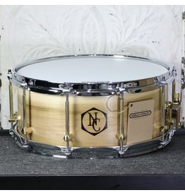 Noble & Cooley Noble & Cooley SS Classic Tulip Snare Drum 14X6in - Woodburn logo, oil finish