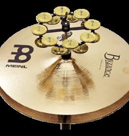 Meinl Meinl hihat tambourine double row brass jingles black