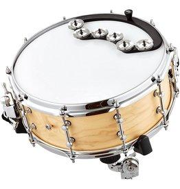 Meinl Meinl Backbeat Tambourine Stainless Steel Jingles