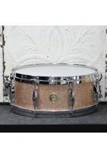 Gretsch Gretsch USA Custom Maple/Gum Snare Drum 14X5.5in - Vintage Champagne Sparkle