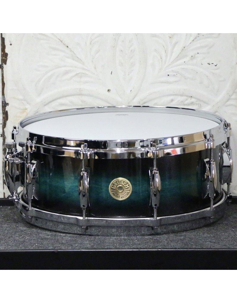 Gretsch Gretsch USA Custom Maple/Gum Snare Drum 14X5.5in - Caribbean Twilight