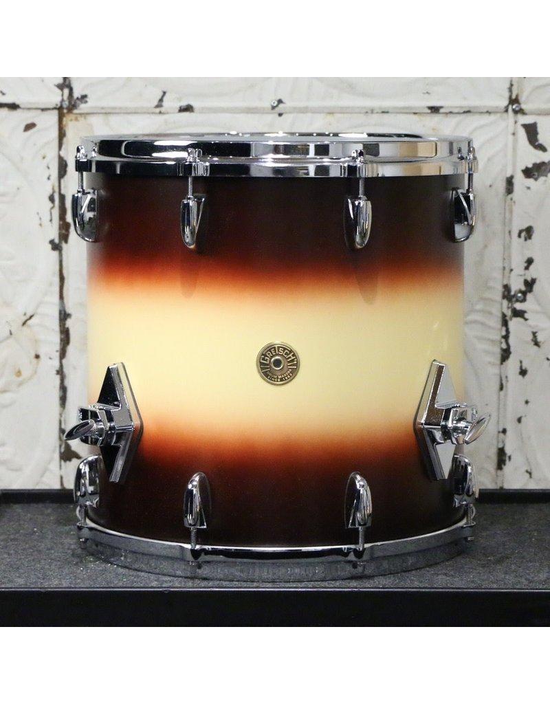 Gretsch Gretsch USA Custom Drum Kit 18-12-14in - Satin Tobacco/ Vintage White Burst
