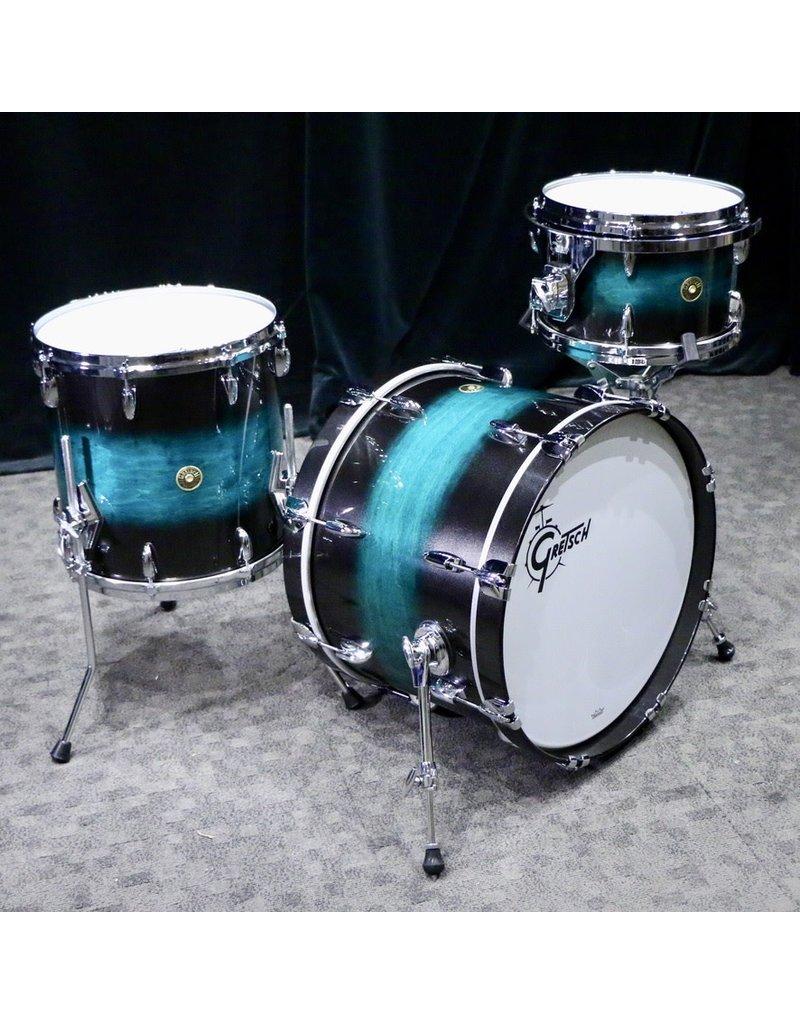 Gretsch Gretsch USA Custom Drum Kit 20-12-14in - Caribbean Twilight Gloss Lacquer
