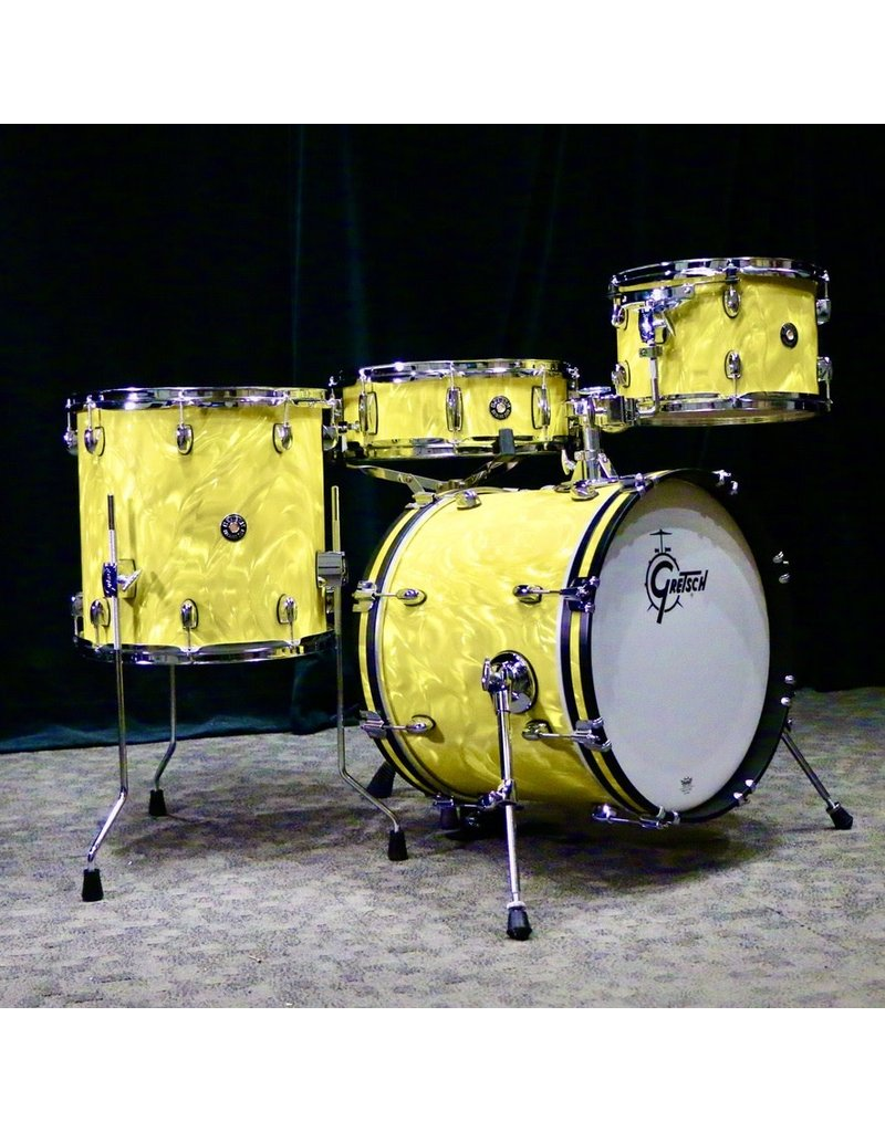 Gretsch Gretsch Catalina Club Drum Kit 18-12-14in + 14in snare - Yellow Satin Flame