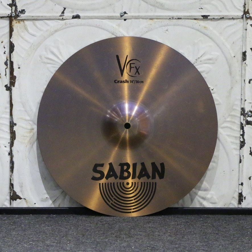 Sabian Used Sabian VFX Tony Verderosa Crash Cymbal 14in (804g)