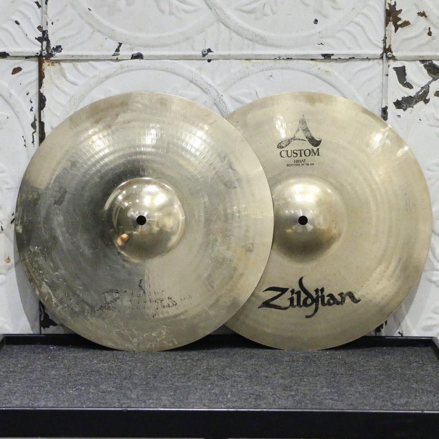 Zildjian Used Zildjian A Custom Hi-Hat Cymbals 14in (972/1268g)
